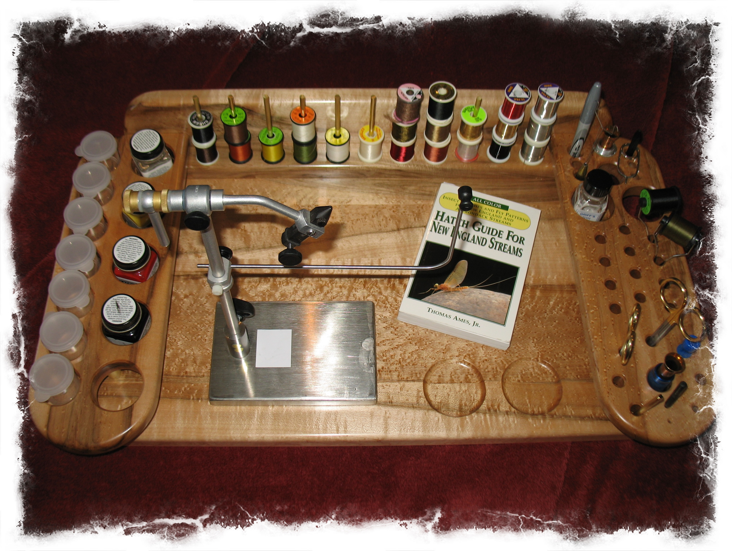 Fly Tying Bench Ideas Part - 22: Elegant Woodworking Plans Can Crusher Portable Fly Tying Bench Plans Wooden
